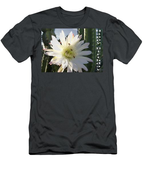 Men's T-Shirt (Slim Fit) featuring the photograph Happy Birthday Card And Print 9 by Mariusz Kula