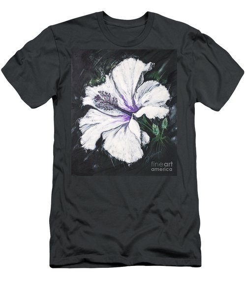 Happy Hibiscus Men's T-Shirt (Athletic Fit)