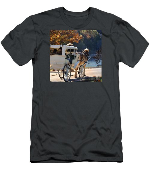Happy Trails  Men's T-Shirt (Athletic Fit)