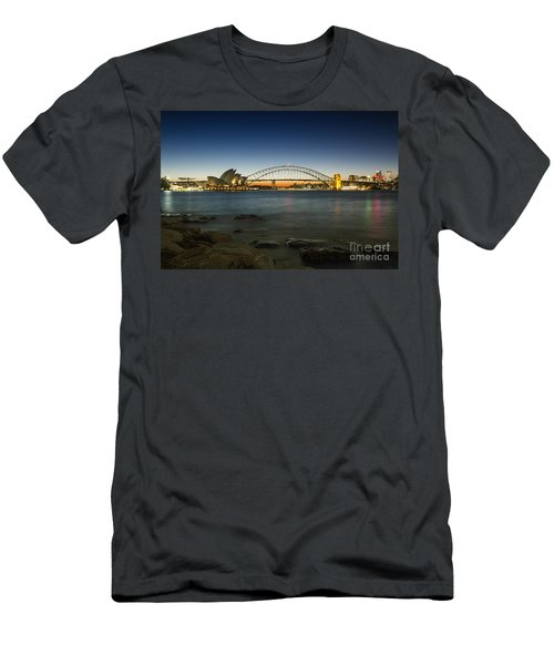 Harbour Night Men's T-Shirt (Athletic Fit)