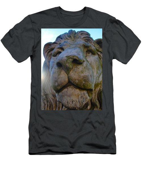 Harlaxton Lions Men's T-Shirt (Slim Fit) by Tiffany Erdman