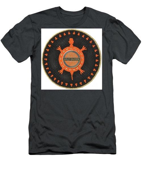 Harley Davidson Iv Men's T-Shirt (Athletic Fit)