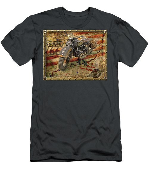 Harley On 66 Men's T-Shirt (Athletic Fit)