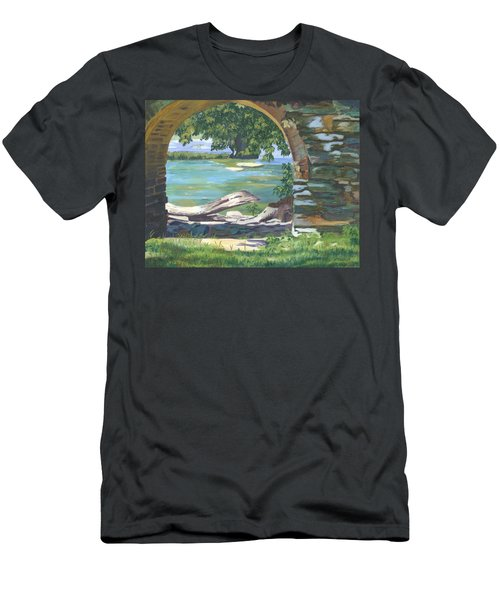 Harper's Arch Men's T-Shirt (Slim Fit) by Lynne Reichhart