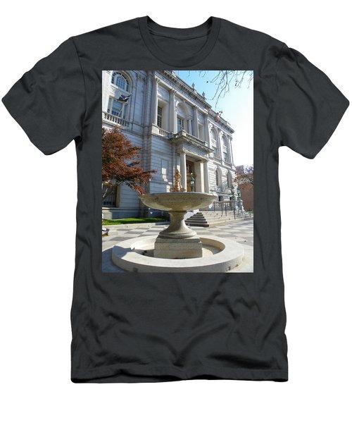 Hartford Historical Building Men's T-Shirt (Athletic Fit)