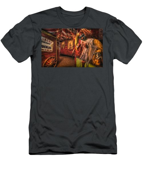 Haunted Circus Men's T-Shirt (Athletic Fit)