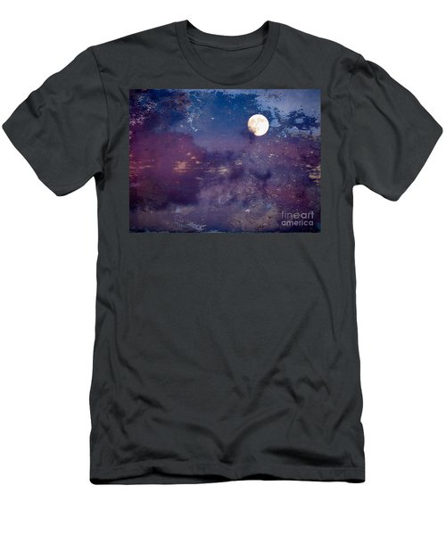 Haunted Moon Men's T-Shirt (Athletic Fit)