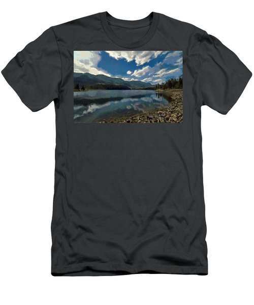Haviland Lake Men's T-Shirt (Slim Fit) by Jeff Kolker