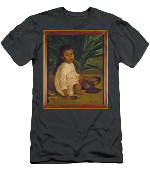 Hawaiian Child, 1901 Men's T-Shirt (Athletic Fit)