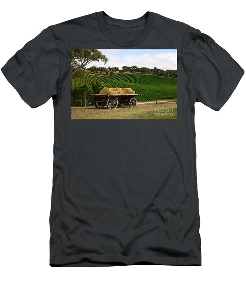 Hay Wagon Men's T-Shirt (Athletic Fit)