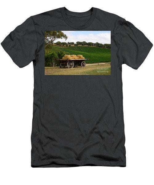 Hay Wagon Men's T-Shirt (Athletic Fit)