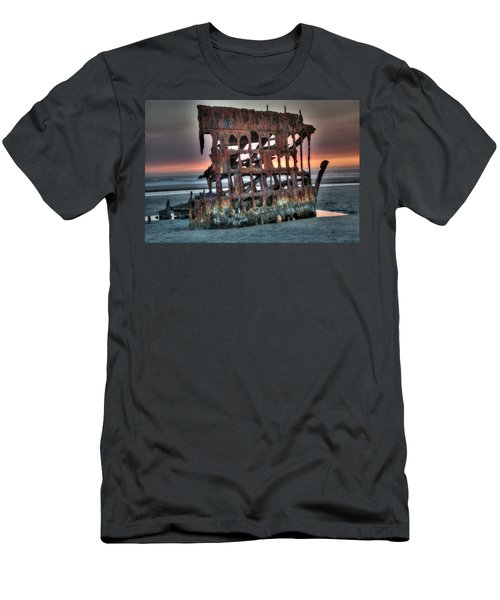 Hdr Peter Iredale Men's T-Shirt (Slim Fit) by James Hammond