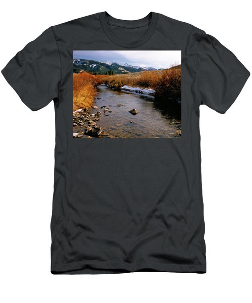 Headwaters Of The River Of No Return Men's T-Shirt (Athletic Fit)