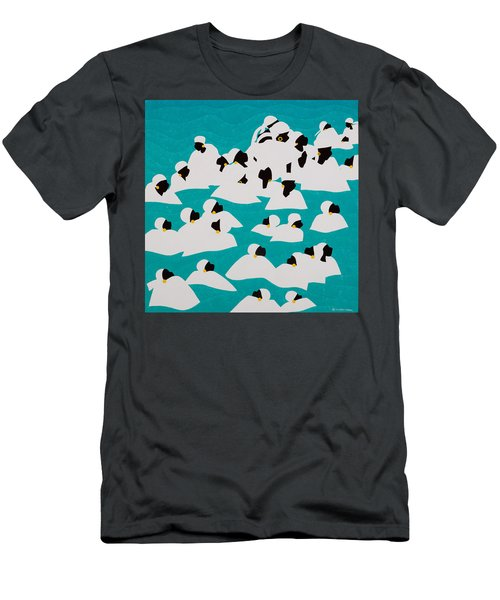 Healing Waters Haiti Men's T-Shirt (Athletic Fit)