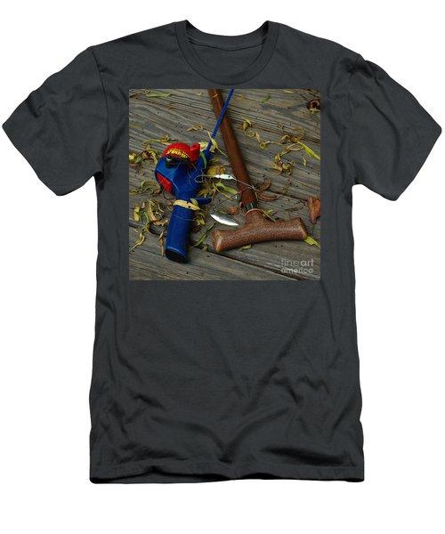 Men's T-Shirt (Slim Fit) featuring the photograph Heart Strings by Peter Piatt