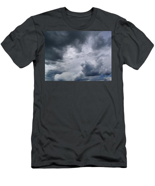 Heaven Looks Angry Men's T-Shirt (Athletic Fit)