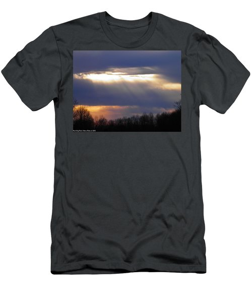 Heavenly Sunset Men's T-Shirt (Slim Fit) by Nick Kirby