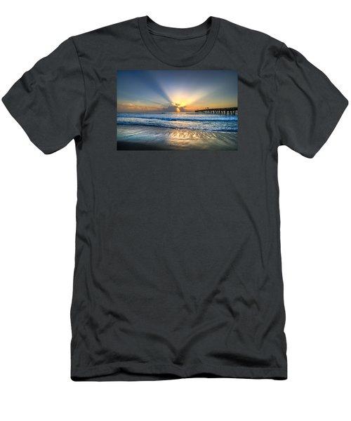 Heaven's Door Men's T-Shirt (Slim Fit) by Debra and Dave Vanderlaan