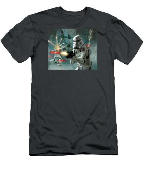 Heavy Storm Trooper - Star Wars The Card Game Men's T-Shirt (Athletic Fit)