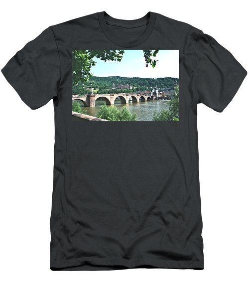 Heidelberg Schloss Overlooking The Neckar Men's T-Shirt (Athletic Fit)