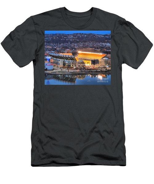 Heinz Field At Night Men's T-Shirt (Athletic Fit)