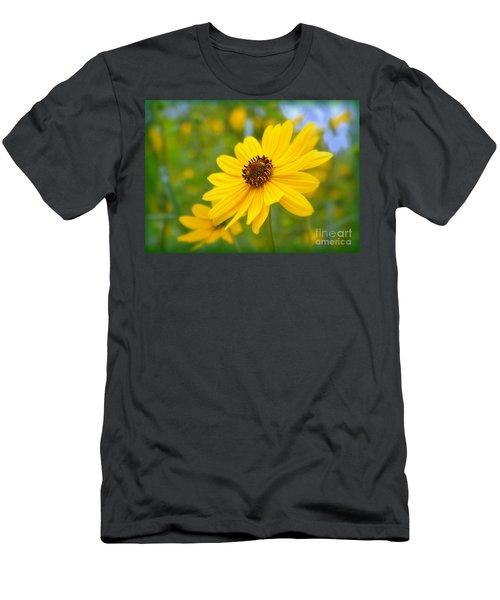 Helianthus Men's T-Shirt (Athletic Fit)