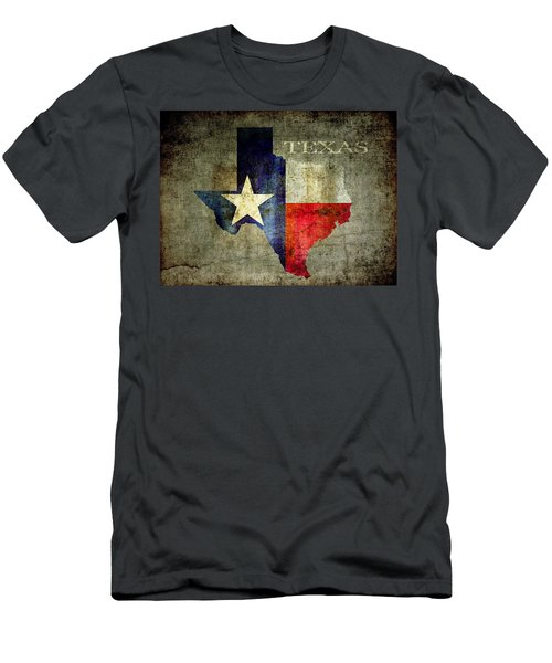 Hello Texas Men's T-Shirt (Athletic Fit)