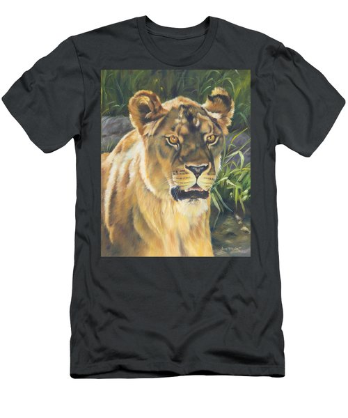 Her - Lioness Men's T-Shirt (Athletic Fit)