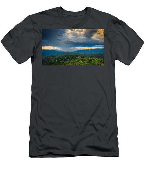 Men's T-Shirt (Athletic Fit) featuring the photograph Here Comes The Rain by Joye Ardyn Durham