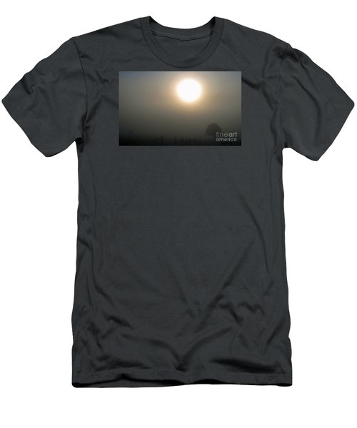 Men's T-Shirt (Slim Fit) featuring the photograph Here Comes The Sun  by Juls Adams