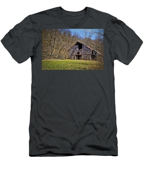 Hidden Barn Men's T-Shirt (Athletic Fit)