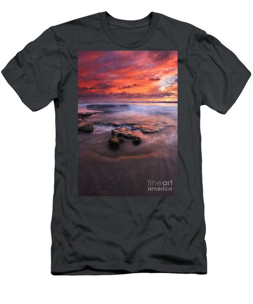 Hidden By The Tides Men's T-Shirt (Athletic Fit)