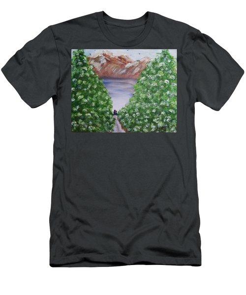 Hidden Escape Men's T-Shirt (Athletic Fit)