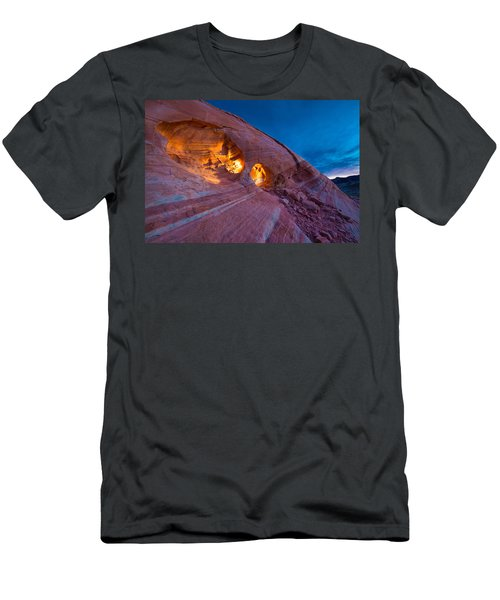 Hidden Light Men's T-Shirt (Athletic Fit)