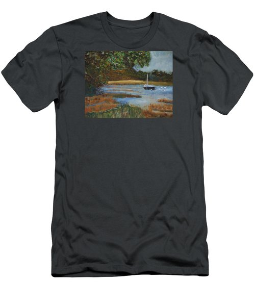 Hospital Cove Men's T-Shirt (Slim Fit) by Michael Helfen