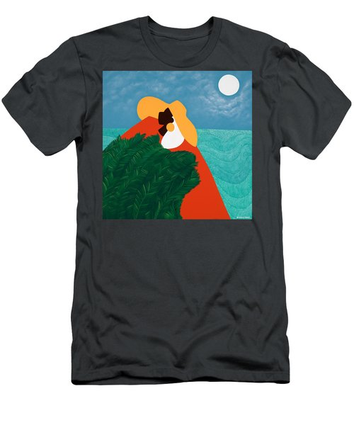 High Priestess Haiti Men's T-Shirt (Athletic Fit)
