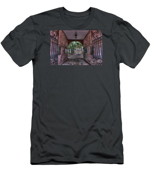 Higher Education Tunnel Men's T-Shirt (Athletic Fit)