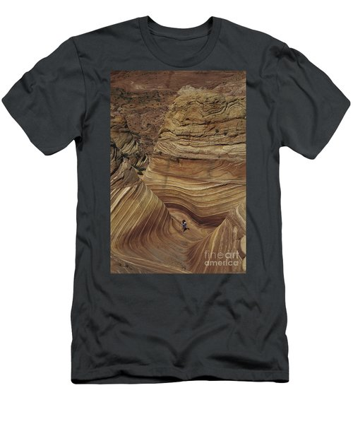 Hiking In Arizona Men's T-Shirt (Athletic Fit)