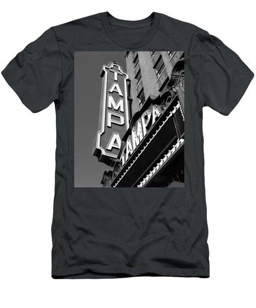 Historic Tampa Men's T-Shirt (Slim Fit) by David Lee Thompson