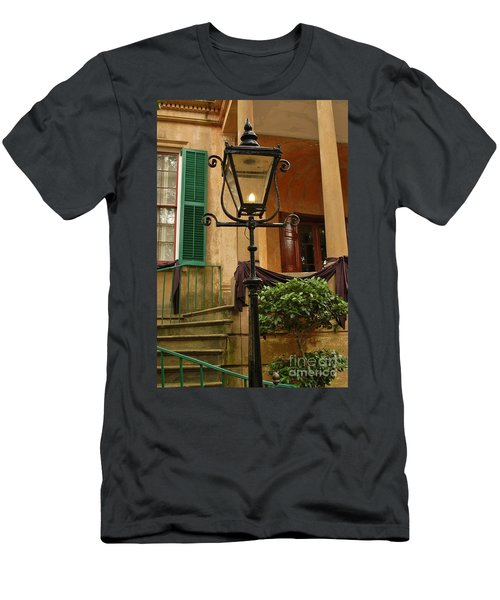 Historical Gas Light Men's T-Shirt (Athletic Fit)