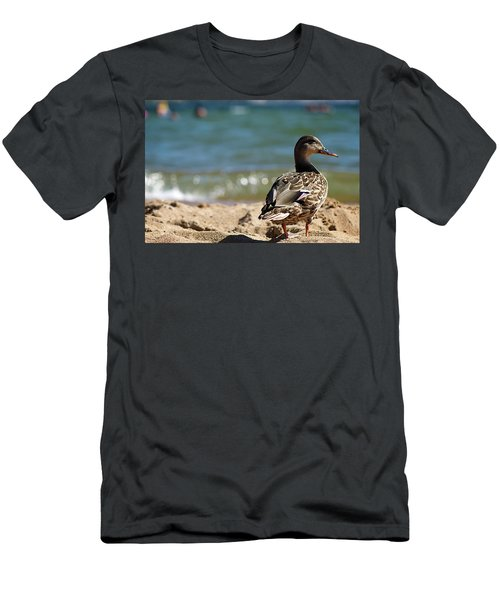 Hitting The Surf Men's T-Shirt (Athletic Fit)