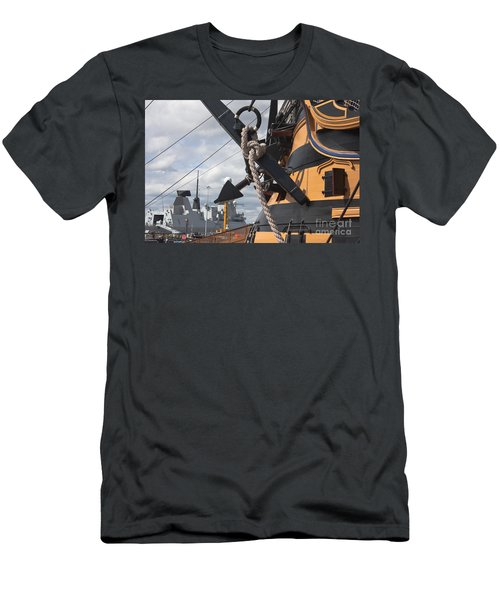 Hms Diamond And Hms Victory Men's T-Shirt (Athletic Fit)