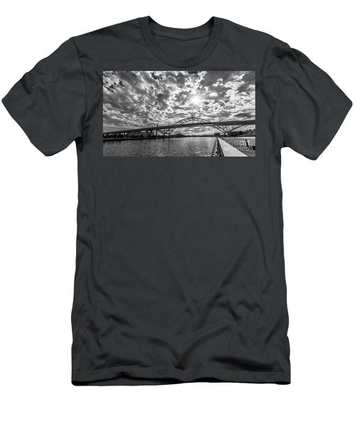 Hoan Bridge Peak Thru Men's T-Shirt (Athletic Fit)