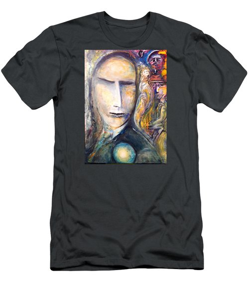 Hollow Man  Men's T-Shirt (Slim Fit) by Kicking Bear  Productions