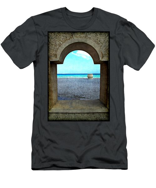 Hollywood Beach Arch Men's T-Shirt (Athletic Fit)