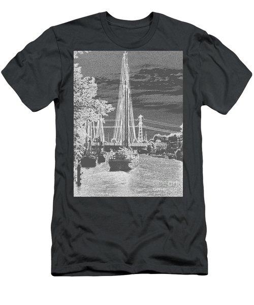 Home Sail Men's T-Shirt (Athletic Fit)