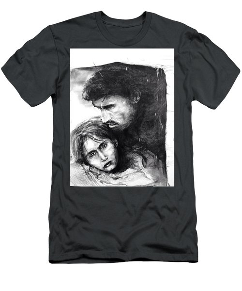 Homeless  Men's T-Shirt (Athletic Fit)