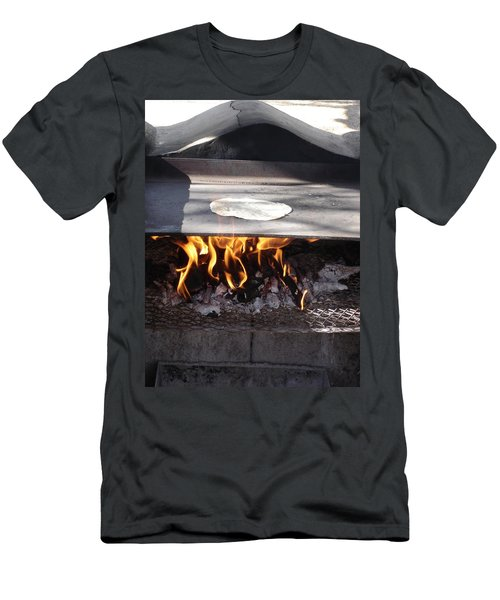 Men's T-Shirt (Slim Fit) featuring the photograph Homemade Tortillas by Kerri Mortenson