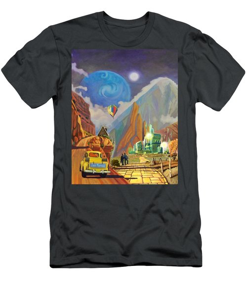 Honeymoon In Oz Men's T-Shirt (Athletic Fit)