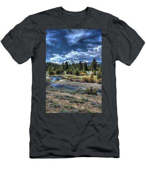 Hope Valley Wildlife Area 2 Men's T-Shirt (Athletic Fit)